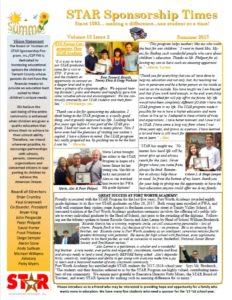 Thumbnail STAR Newsletter Summer 2017 Vol 18 Iss 2